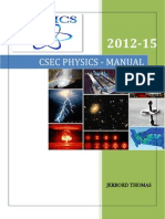 Csec Physics Manual 2012-15