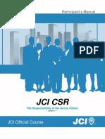 Jci Csr Manual