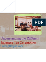 Understanding the Different Japanese Tea Ceremonies