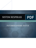 Patomekanisme Batuk