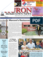 Huron Hometown News - September 27, 2012