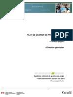 Plan de Gestion de Projet