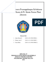 MAKALAH K3 -KEBAKARAN-