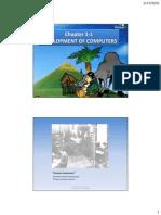 1-1 Development of Computers