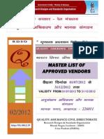 Vendor Directory Qa Civil