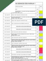 Planning Niveau 1 2012 2013