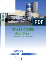Swiss Combi Belt Dryer