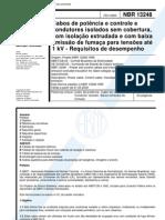 NBR_13248 - Cabos de Potência e Controle e Condutores Isolados Sem Costura
