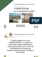 Impacto do Aquecimento Global em Hidrelétricas