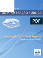 livro SEDIS Elaboracao_Gestao_Projetos_WEB - Administração Pública