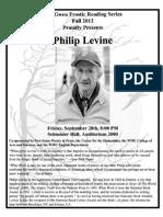 Levine Flyer