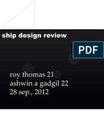 Ship Design Review