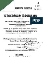 Curso Completo Elemental de Derecho Romano - Tomo i (1)