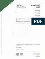 ABNT NBR 10897 - Sistemas de proteção contra incendio por chuveiros automáticos