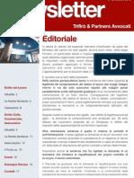 Newsletter T&P N°62