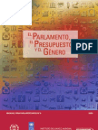 Parlamentos, presupuestos y género