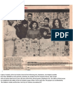 GorgeousMosaicProject EHPAS.students.withTeacher, Mark Gura UFT.bulletin1991