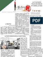 Echos de La FAPT - Octobre 2012