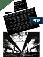 Affiche Mobilisation générale, 4 octobre 2012