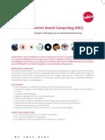 Leaflet Server Based Computing