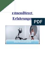 Fitnessdirect Erfahrungen
