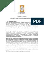 GUÍA ELABORACIÓN DE TRABAJOS ESCRITOS FACULTAD DE TEOLOGÍA