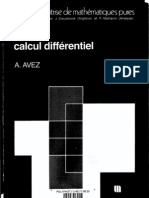 Calcul differentiel