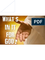 whats in it for god pdf