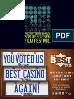 San Diego Asian Film Festival 2012 Program Booklet