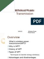 Wireless Trasnmission