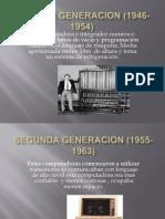 generaciones de la computadora
