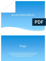 Tipos de Agua Para Riego[1]