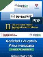 II Congreso de Docentes Preuniversitarios