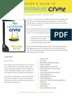 The Lemonade Crime Teacher's Guide