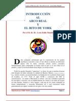 Leon Zeldis Mandel Introduccion Al Arco Real y El Rito York
