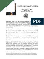 Briefing Document Urgent Report 10.01.12