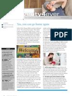 Twenty4ever, September 2012 Newsletter