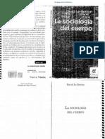 Le Breton, La sociología del cuerpo