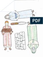 Abraham and Isaac flannel board figures
