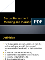 Sexual Harassment at Campus