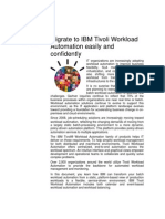 Migration Services IBM Tivoli Workload Automation