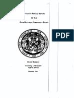 OMCB Report 15 2007