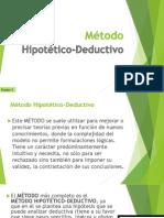 Método Hipotético-Deductivo - Equipo 3