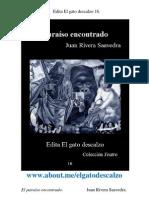 Edita El gato descalzo 16. El paraíso encontrado. Juan Rivera Saavedra
