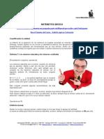 ADM 138 - Matemática Básica