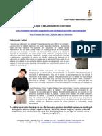 ADM 161 - Calidad y Mejoramiento Continuo