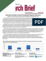Research Brief Regions Waterways 2011