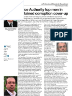 West Yorkshire Police Authority in sustained corruption cover-up