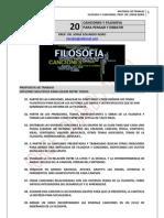 176. FILOSOFIA + 20 CANCIONES PARA  ENSEÑAR Y APRENDER