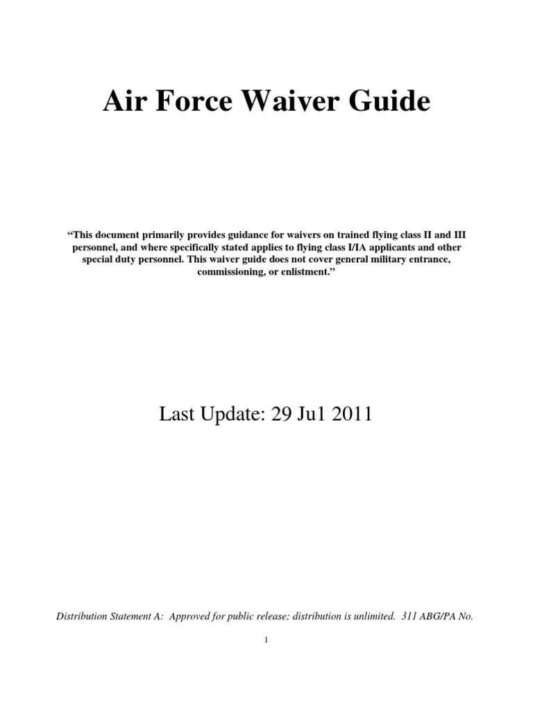 60bb95d159 Waiver Guide